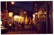 Paraty at Night